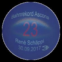 Bahnrekord Ascona 2017