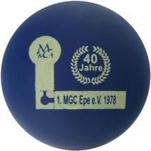 """mg 40 Jahre 1. MGC Epe 1978 """"matt"""""""