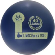 mg 40 Jahre 1. MGC Epe 1978
