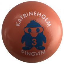 "Pingvin ""Katrineholm 3"" lackiert"
