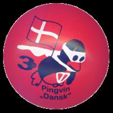 """3D Pingvin """"Dansk"""" GL"""