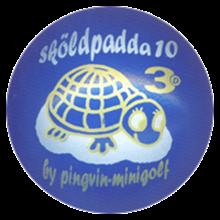 """3D """"Sköldpadda 10"""" KX"""